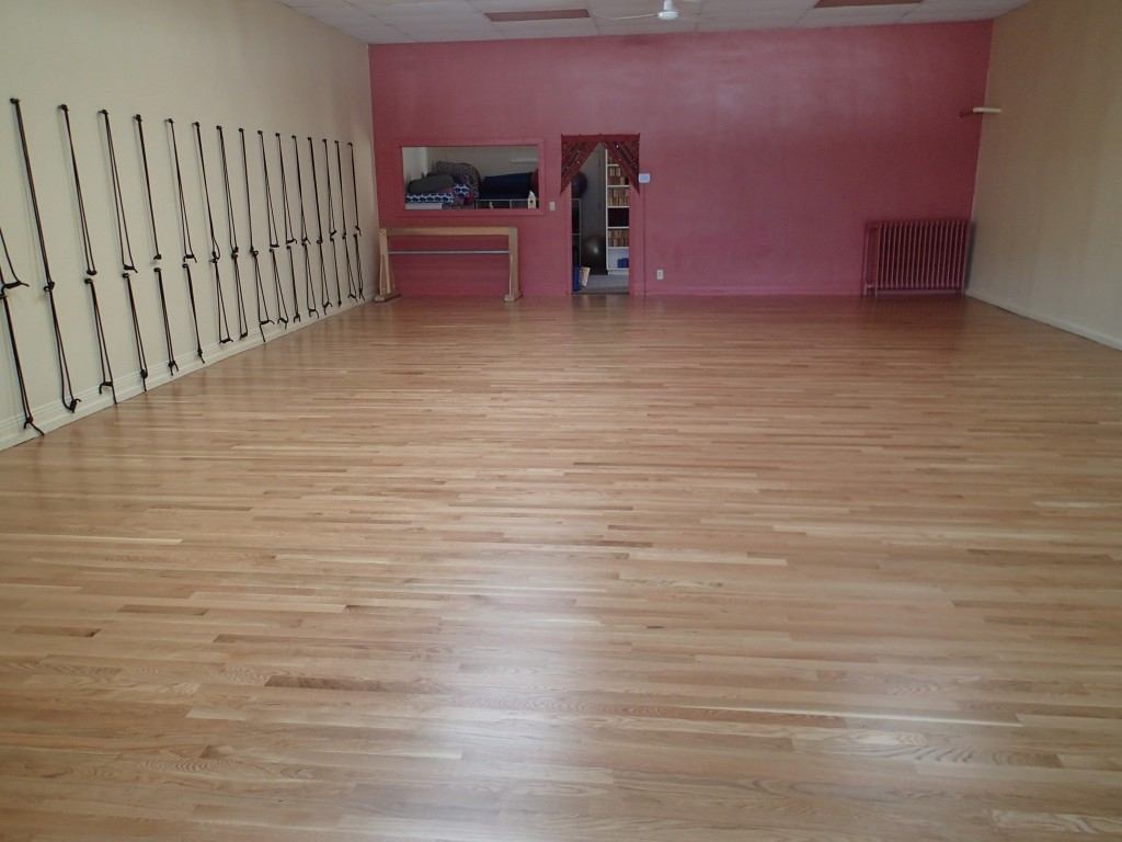 Selby Studio - new floors